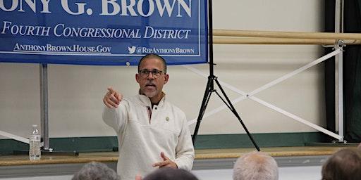Conversation with Congressman Brown in Westphalia