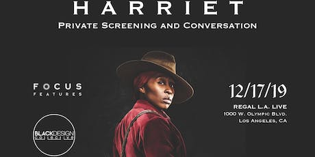 Black Design Collective Private Screening of Harriet with Conversation tickets