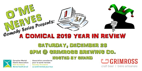 O'Me Nerves Comedy Series Presents: A Comical 2019 Year In Review tickets