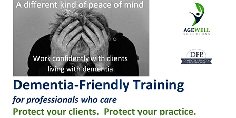 Dementia-Friendly Training for Financial Service Professionals tickets