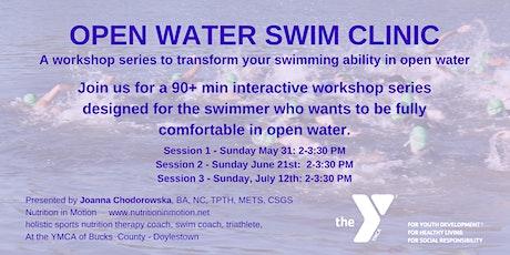 Open Water Swim Clinic II tickets