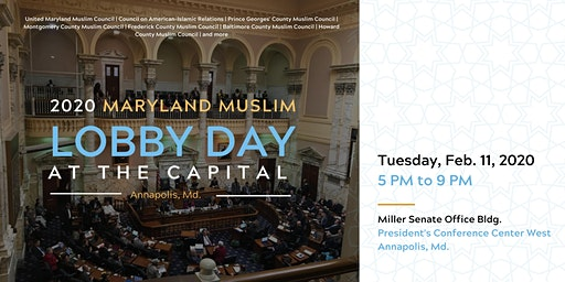 2020 Maryland Muslim Lobby Day at the Capital