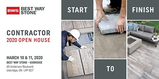 Best Way Stone  -  2020 Contractor Open House