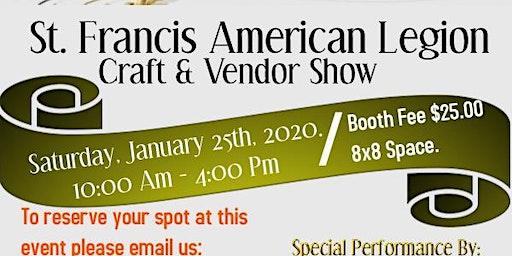 St.Francis American Legion Craft & Vendor Show
