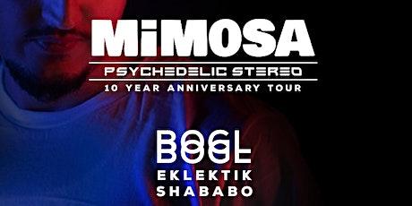 Monarch & Soundpieces present: MIMOSA & BOGL tickets