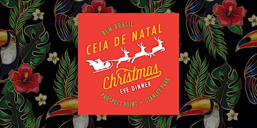 Ceia de Natal Brasileira -  Xmas Eve Dinner - Prospect Point - Stanley Park