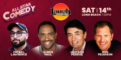 Ruben Paul, Ron Pearson, and more - All-Star Comedy tickets