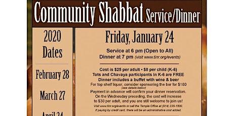 Community Shabbat tickets