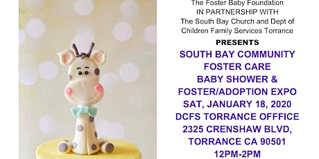 Community Baby Shower to support newborns and toddlers in foster care tickets