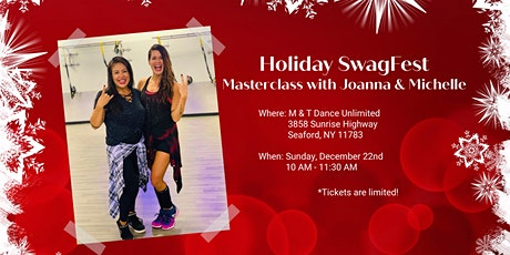 Holiday SwagFest w/ Joanna & Michelle  tickets