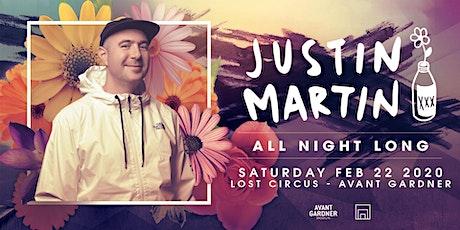 Justin Martin (All Night Long) tickets