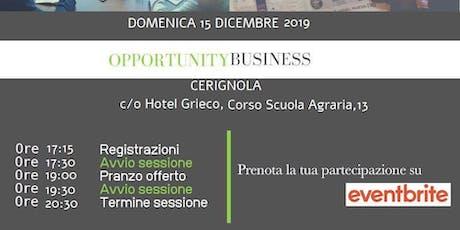 Copia di Opportunity Business biglietti