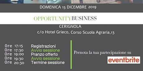 Copia di Opportunity Business biglietti