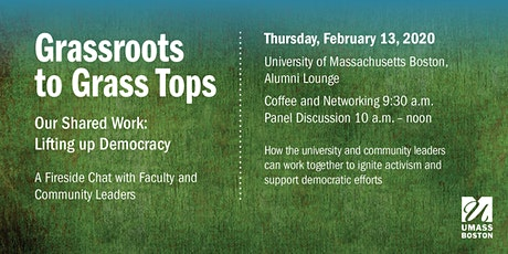 Our Shared Work: Lifting up Democracy from Grassroots to Grass Tops tickets