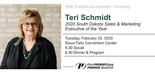 SME Excellence Awards honoring Teri Schmidt