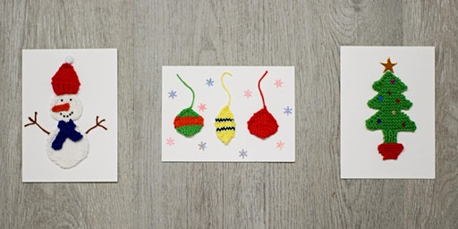 Season's Greeting Holiday Cards Knitting Workshop