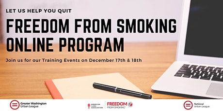 Freedom from Smoking Online Training tickets