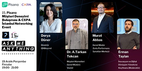 CXPA Istanbul & Pisano Ask Me Anything Event tickets