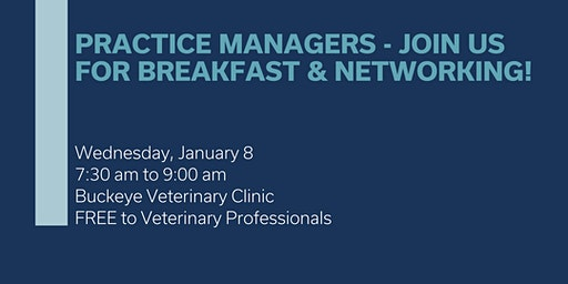 Northeast Ohio Practice Manager Networking Group Meeting