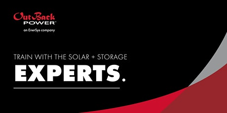 Installing Solar plus Storage with OutBack tickets