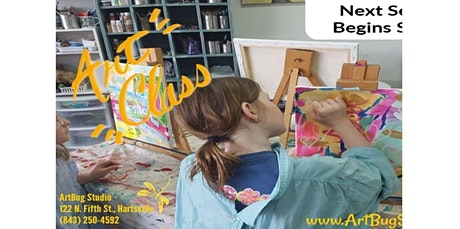 Art Classes-9 Week Sessions (Registration Portal) (03-26-2020 starts at 4:00 PM) tickets