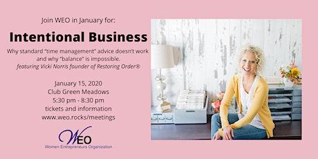 Women Entrepreneurs Org January 2020 - Vicki Norris of Restoring Order® tickets