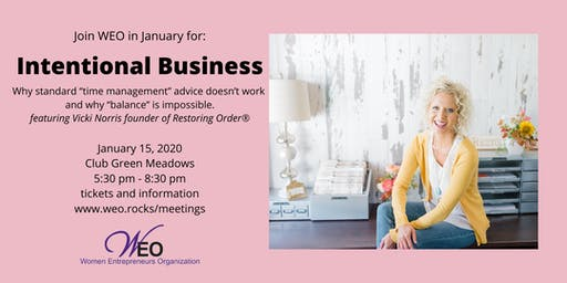 Women Entrepreneurs Org January 2020 - Vicki Norris of Restoring Order®