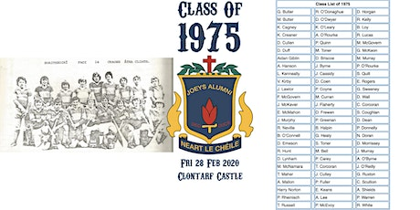 Class of 1975 45 Year Reunion tickets