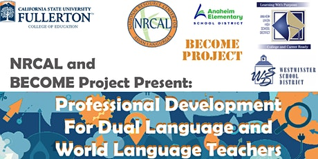 BECOME PROJECT  Module 2 - Professional Development for Language Teachers tickets