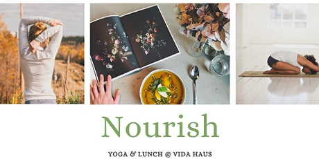 Nourish~Somatic yoga workshop and lunch tickets