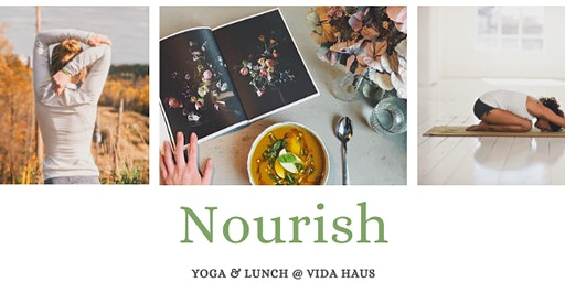 Nourish~Somatic yoga workshop and lunch