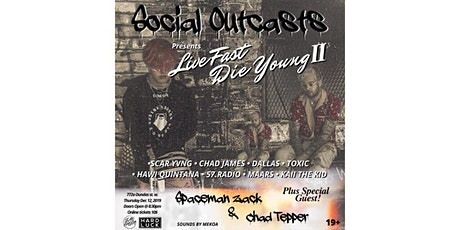 LIVE FAST DIE YOUNG II tickets