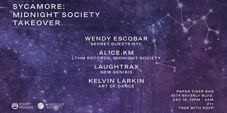 Sycamore 009: Midnight Society Takeover (Brooklyn) tickets