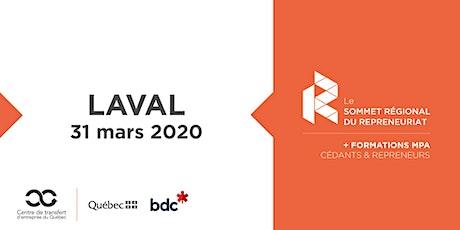 Les Rdv du repreneuriat - Sommet régional du repreneuriat à Laval + Formations MPA billets