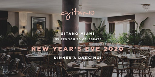 GITANO MIAMI BEACH NEW YEAR'S EVE 2020
