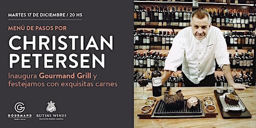 Menu de pasos Christian Petersen