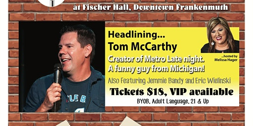 Comedy Show- Fischer Hall - Tom McCarthy