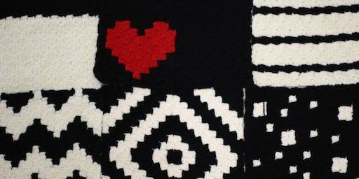 The Geo Blanket (Pt. 12) C2C Crochet Workshop