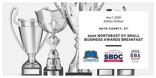 2020 Northeast Kentucky Small Business Awards Breakfast - SPONSORSHIP