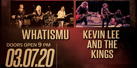 Whatismu with Kevin Lee & the Kings at Brauer House tickets