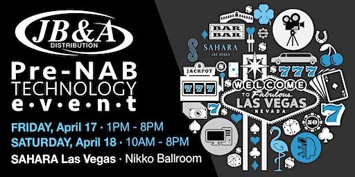 JB&A Pre-NAB Tech Event 2020