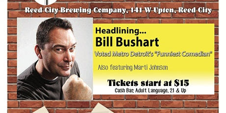 Comedy at Reed City Brewing Company tickets