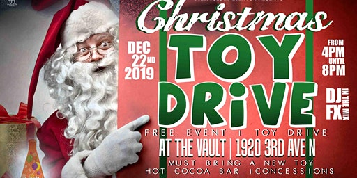 Partyology Christmas Party/Toy Drive