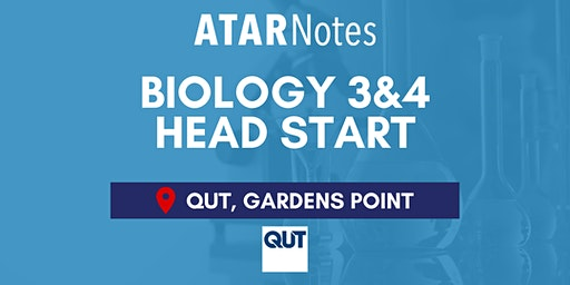 QCE Biology Units 3&4 (Y12) Head Start Lecture - QUT