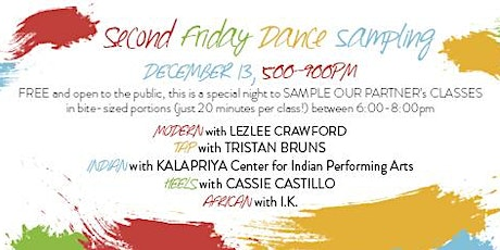 Second Friday Dance Sampling and Celebration tickets