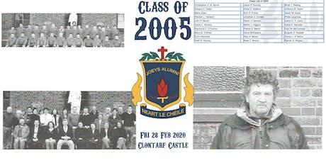 Class of 2005 - 15 Year Reunion tickets