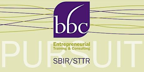 SBIR/STTR Proposal Prep for NSF tickets