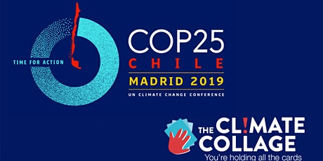 The Climate Collage workshop at the COP25 in Madrid billets