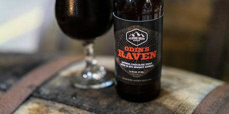 Alpine Beer Company Barrel-Aged Odin's Raven Imperial Stout Release tickets