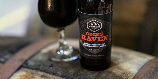 Alpine Beer Company Barrel-Aged Odin's Raven Imperial Stout Release